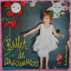 Discos de vinilo: TCHAIKOWSKY 1959 ZAFIRO CZ P 5 BALLET DE CASCANUECES DISCO VINILO. Lote 44347131