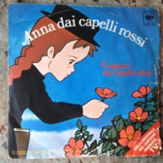 Discos de vinilo: ANNA DAI CAPELLI ROSSI - I RAGAZZI DAI CAPELLI ROSSI . SINGLE . 1980 CBS ITALIA. Lote 44349288