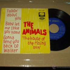 Discos de vinilo: ANIMALS EP THE HOUSE OF THE RISING SUN+3. Lote 44350994