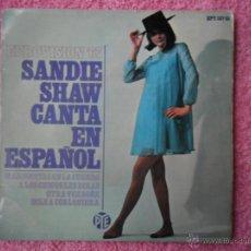 Discos de vinilo: MARIONETAS EN LA CUERDA SANDIE SHAW 1967 PYE 33735 EUROVISIÓN 67 DISCO VINILO. Lote 44356763