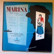 Discos de vinilo: MARINA - EMILIO ARRIETA - DOS LPS. Lote 44357070