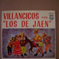 Discos de vinilo: VILLANCICOS POR LOS DE JAÉN - QUE GUAPA ES LA MADRE Y 3 MAS. Lote 44357373
