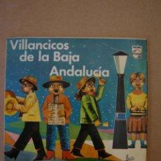 Discos de vinilo: VILLANCICOS DE LA BAJA ANDALUCÍA (LUIS RUEDA) - CAMPANILLEROS GADITANOS Y 3 MÁS . Lote 44358076