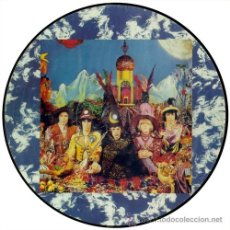 Discos de vinilo: ROLLING STONES LP THEIR SATANIC MAJESTIES REQUEST PICTURE DISC. Lote 25784132