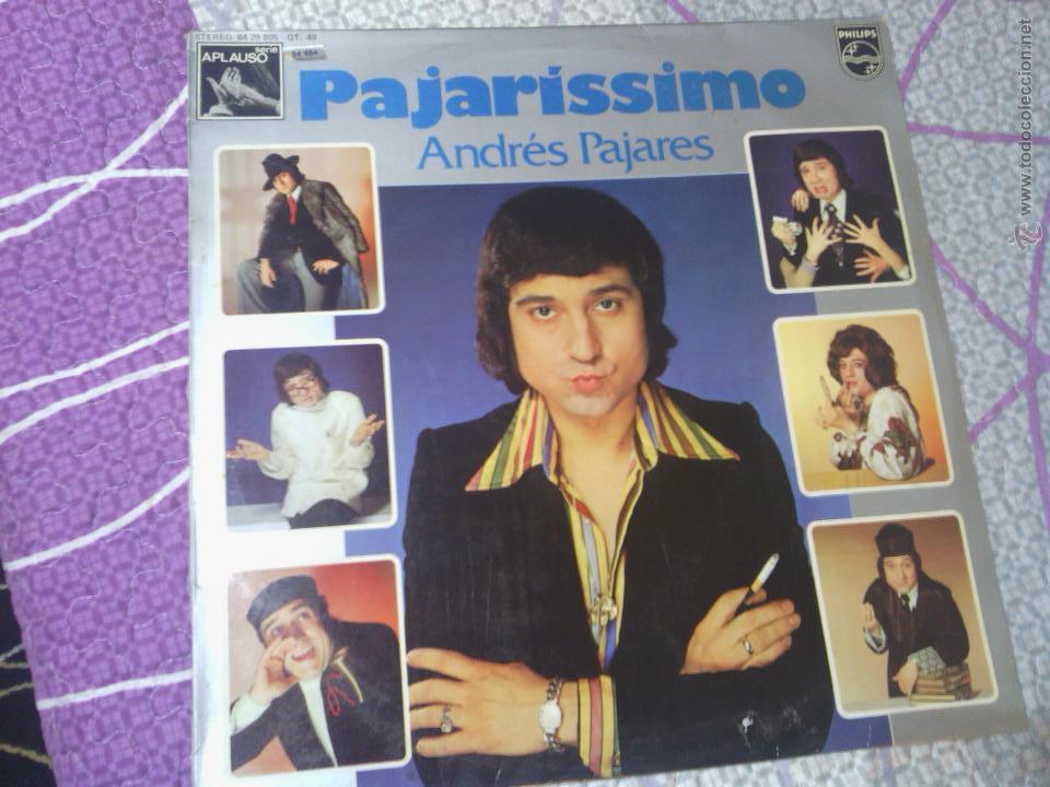 ANDRES PAJARES - PAJARISSIMO (Música - Discos de Vinilo - Maxi Singles - Solistas Españoles de los 70 a la actualidad)