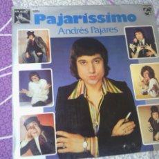 Discos de vinilo: ANDRES PAJARES - PAJARISSIMO. Lote 44363238