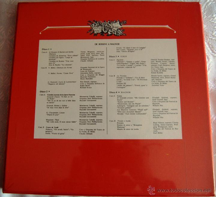 """Discos de vinilo: La Gran Música """"De Haydn a Mozart"""". La caja contiene 4 discos grandes (tamaño 31,5 X 31,5). - Foto 2 - 44364931"""
