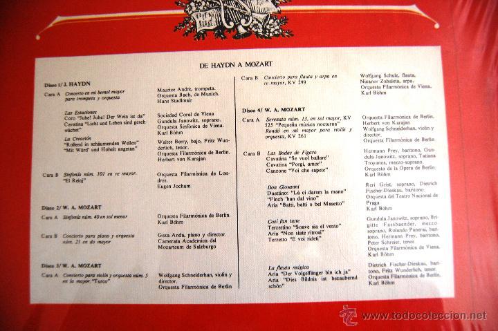 """Discos de vinilo: La Gran Música """"De Rossini a Wagner"""". Edita Deutsche Grammophon. La caja contiene 4 discos grandes - Foto 2 - 44365019"""