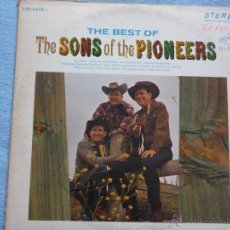 Discos de vinilo: THE PIONEERS,THE BEST EDICION USA DEL 66. Lote 44365542