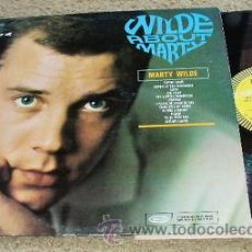 Discos de vinilo: MARTY WILDE WILDE ABOUT MARTY US EPIC LP ORIG USA 50,S ROCKABILLY VG+/VG+ SONIDO PERFECTO MUY RARO!!. Lote 44367685