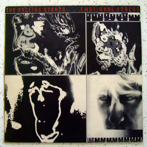 LP. VINILO . THE ROLLING STONES . EMOTIONAL RESCUE . 1980 (Música - Discos - Singles Vinilo - Pop - Rock - Extranjero de los 70)
