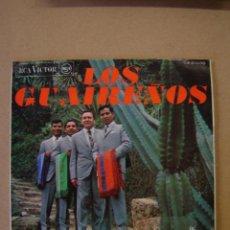 Discos de vinilo: LOS GUAIREÑOS - LA, LA, LA - CUANDO SALÍ DE CUBA - CÁLLATE NIÑA- CUANDO LLEGUE EL VERANO . Lote 44374485