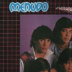 Discos de vinilo: MENUDO LP SELLO SELLO RCA VICTOR AÑO 1984 PROMOCIONAL ETIQUETA BLANCA. Lote 44375434