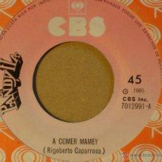 Discos de vinilo: LA PANDYLLA - A COMER MAMEY / TE QUIERO - CBS 7012991 - 1985 - EDICION COSTARRICENSE. Lote 44379552