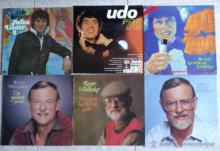 4 LP´S UDO JÜRGENS + 3 LP´S ROGER WHITTAKER EXCELENTES (Música - Discos - LP Vinilo - Cantautores Extranjeros)