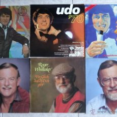 Discos de vinilo: 4 LP´S UDO JÜRGENS + 3 LP´S ROGER WHITTAKER EXCELENTES. Lote 44381107