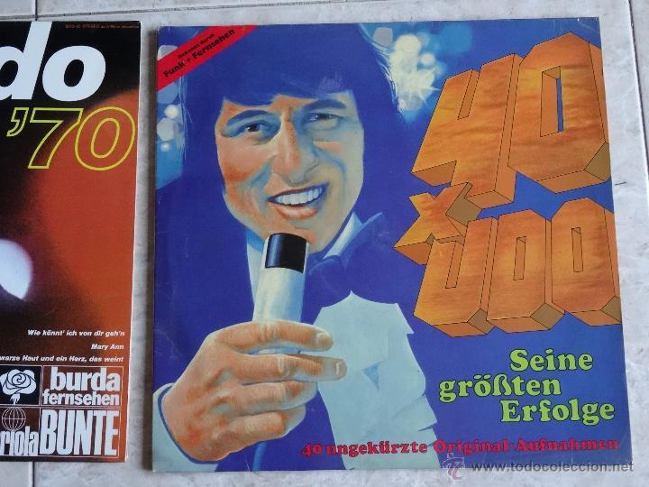 Discos de vinilo: 4 LP´S UDO JÜRGENS + 3 LP´S ROGER WHITTAKER EXCELENTES - Foto 4 - 44381107