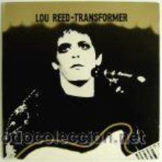 Discos de vinilo: LOU REED - TRANSFORMER. Lote 44381707
