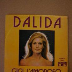 Discos de vinilo: DALIDA - GIGI LÁMOROSO - TENIA DIECIOCHO AÑOS. Lote 44384743