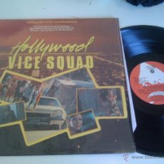 Discos de vinilo: VARIOUS - HOLLYWOOD VICE SQUAD (ORIGINAL MOTION PICTURE SOUNDTRACK) (LP, COMP) . Lote 44386218