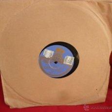 Discos de vinilo: DISCO GRAMOFONO,PIZARRA,25 CM,AY TOMASA Y YO QUIERO VER CHICAGO. Lote 44392805