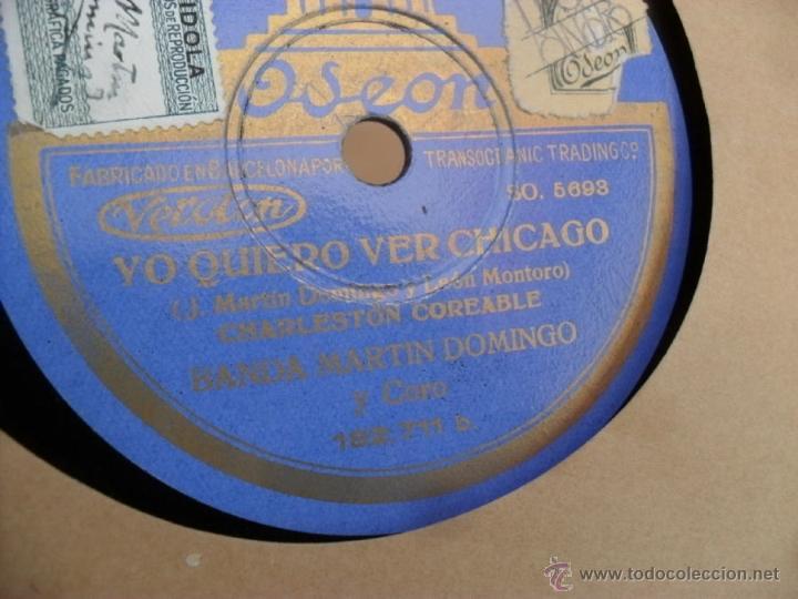 Discos de vinilo: disco gramofono,pizarra,25 cm,ay tomasa y yo quiero ver chicago - Foto 2 - 44392805