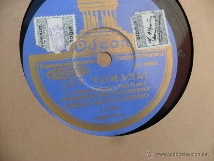 Discos de vinilo: disco gramofono,pizarra,25 cm,ay tomasa y yo quiero ver chicago - Foto 3 - 44392805