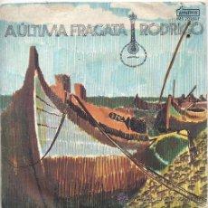 Discos de vinilo: RODRIGO / A ULTIMA FRAGATA / ESQUINA DE RUA / O SOL DO TEU OLHAR + 1 (EP PORTUGUES). Lote 44392913