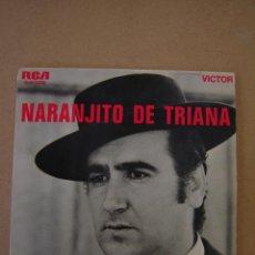 Discos de vinilo: NARANJITO DE TRIANA - SANTA ANA REPICA Y 2 MÁS. Lote 44393208