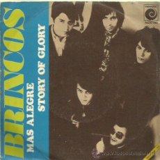 Discos de vinilo: LOS BRINCOS SINGLE SELLO NOVOLA AÑO 1971. Lote 44394230