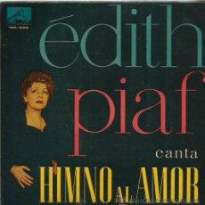 Discos de vinilo: EDITH PIAF EP SELLO LA VOZ DE SU AMO AÑO 1960. Lote 44394319