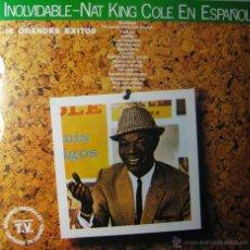 Discos de vinilo: NAT KING COLE EN ESPAÑOL. Lote 44394401