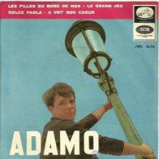 Discos de vinilo: ADAMO EP SELLO LA VOZ DE SU AMO AÑO 1964. Lote 44394416