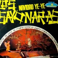 Discos de vinilo: LOS SAYONARAS. NAVIDAD YE-YE. SESION 1966. Lote 44395985