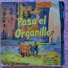 Discos de vinilo: PASA EL ORGANILLO APRUZZESSE PICHI RCA 24003 DISCO VINILO. Lote 44397621