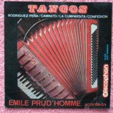 Discos de vinilo: TANGOS LA CUMPARSISTA EMILE PRUD'HOMME 1964 DISCOPHON 27335 DISCO VINILO. Lote 44397849