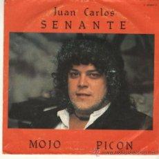 Discos de vinilo: JUAN CARLOS SENANTE CACO SG EXPLOSION 1982 PROMO MOJO PICON / JOSE LUIS EL BORRACHITO. Lote 44398899
