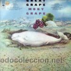 Discos de vinilo: MOBY GRAPE - GREAT GRAPE. Lote 44400195