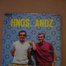 Discos de vinilo: HNOS. ANOZ - EL CAMPANERO - TUS OJOS - ALONDRA - NUESTRO PUEBLO. Lote 44401243