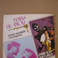 Discos de vinilo: HENRY SALOMON Y SU ORQUESTA - LA SOMBRA DE TU SONRISA - CANCIÓN DE ORFEO . Lote 44401418