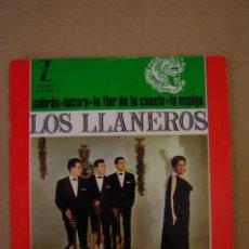 Discos de vinilo: LOS LLANEROS - SABRÁS - LOCURA - LA FLOR DE LA CANELA - LA ESPIGA. Lote 44402230