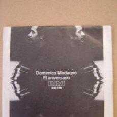 Discos de vinilo: DOMENICO MODUGNO - EL ANIVERSARIO - MIA FIGLIA. Lote 44403341