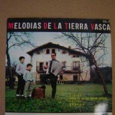 Discos de vinilo: EUSEBIO BILBAO Y SU ACORDEÓN - MELODÍAS DE LA TIERRA VASCA II - ALAIAK Y 3 MÁS. Lote 44417774