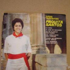 Discos de vinilo: PAQUITA SANTOS (JOTAS NAVARRAS ) - LA VENA Y 5 MÁS. Lote 44418387