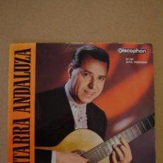 Discos de vinilo: LUIS MARAVILLA (GUITARRA ANDALUZA 1) - CADIZ Y SU SALERO Y 3 MÁS. Lote 44419896