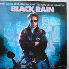 Discos de vinilo: BLACK RAIN - FEATURING: GREGG ALL MAN , IGGY POP.... Lote 63802462