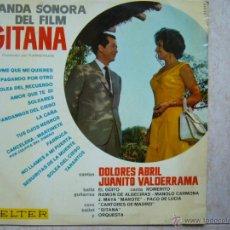 Discos de vinilo: BANDA SONORA DEL FILM GITANA. Lote 44422899