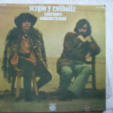 Discos de vinilo: SERGIO Y ESTIBALIZ - CANCIONES SUDAMERICANAS . Lote 44422963