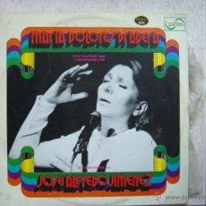 Discos de vinilo: MARIA DOLORES PRADERA ACOMPAÑADA POR LOS GEMELOS. Lote 44423036