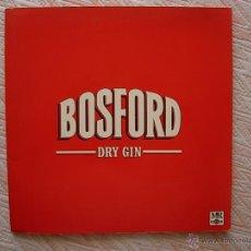 Discos de vinilo: DISCO LP VINILO , BOSFORD DRY GIN. Lote 44424939